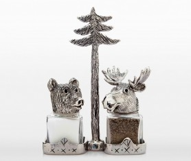 Watch these forest friends forgo their natural instincts and sit peacefully side by side in your cupboard.